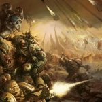 Traitor Legionnaires from the World eaters and Death Guard Legions purge those still loyal to the Emperor in one of the opening battles of the fabled Horus Heresy