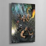 THE CATACHAN JUNGLE FIGHTERS – Aluminium Print