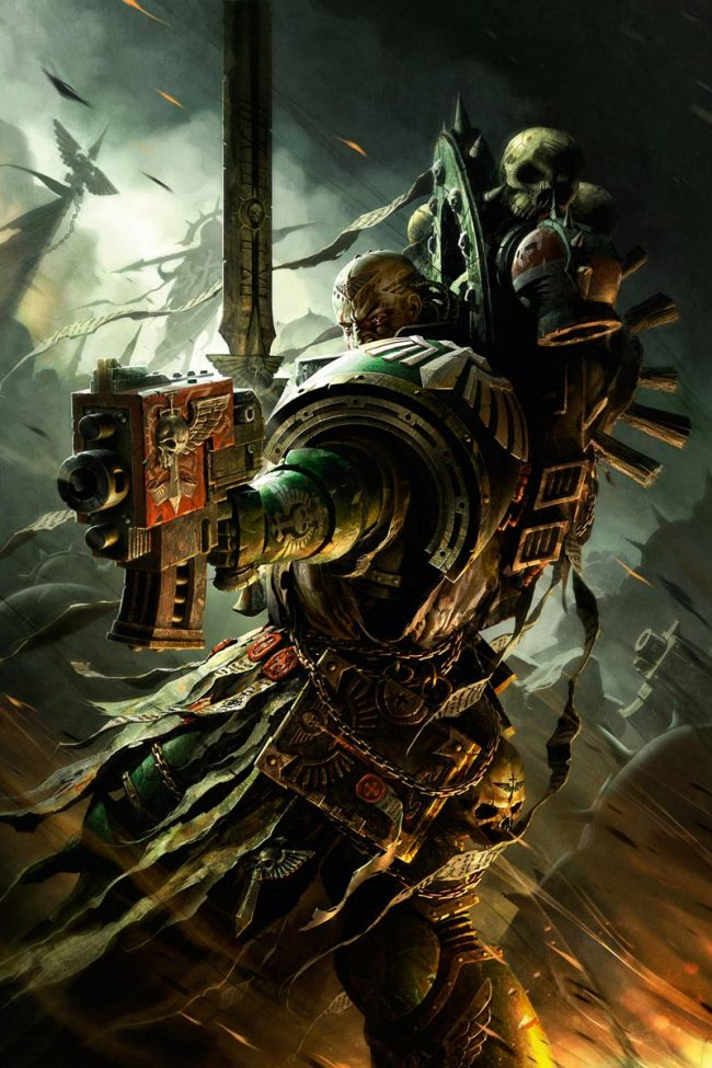 A DARK ANGELS VETERAN