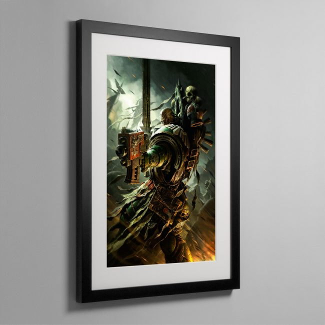 A DARK ANGELS VETERAN – Framed Print