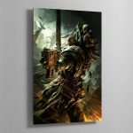 A DARK ANGELS VETERAN – Aluminium Print