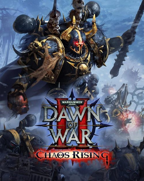 Created as the cover for the popular Chaos Rising expansion for Dawn of War 2