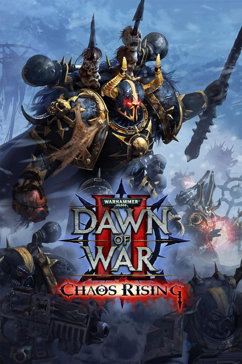 dawn of war 2 chaos rising warhammer art