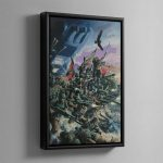 THE ASTRA MILITARUM – Framed Canvas