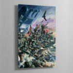 THE ASTRA MILITARUM – Aluminium Print