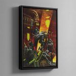 A NECRON DYNASTY – Framed Canvas