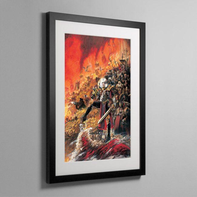 ADEPTA SORORITAS – Framed Print