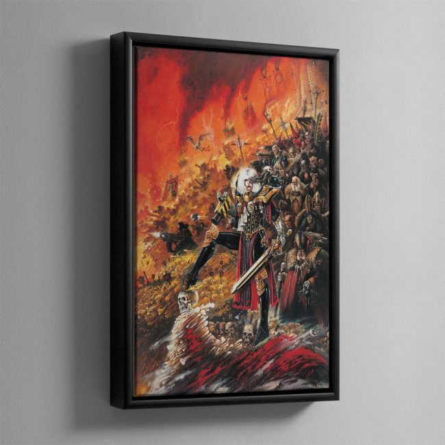ADEPTA SORORITAS – Framed Canvas