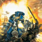 This image graced the cover of the 5th edition Space Marine Codex.