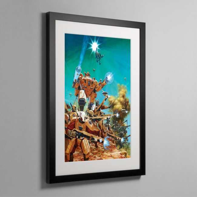 THIRD EDITION TAU CODEX COVER – Framed Print