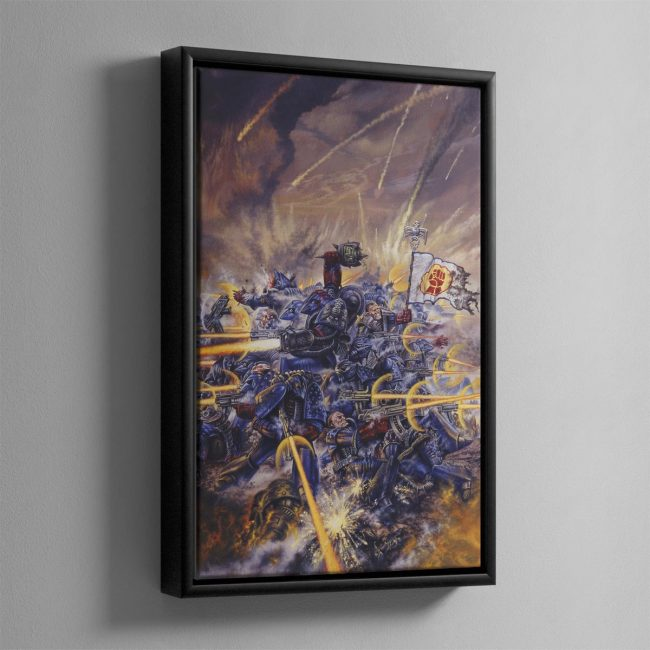 ROGUE TRADER – Framed Canvas
