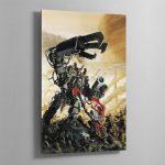 YARRICK VS GHAZGHKULL ARMAGEDDON – Aluminium Print