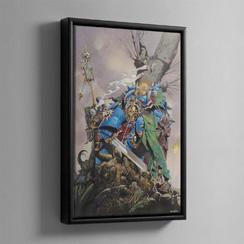 Framed Canvas - Warhammer Art