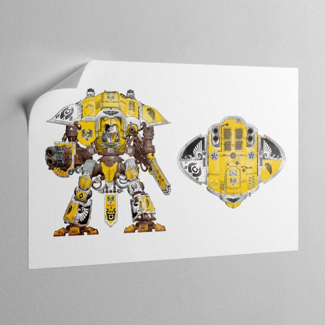 house-hawkshroud-knight-erran-sticky-poster