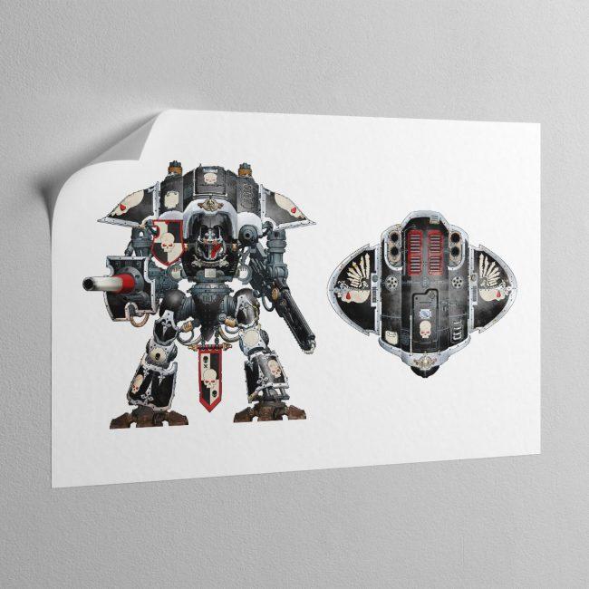 the-obsidian-knight-sticky-poster