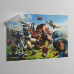 BLOOD BOWL BOX ART – Canvas Poster