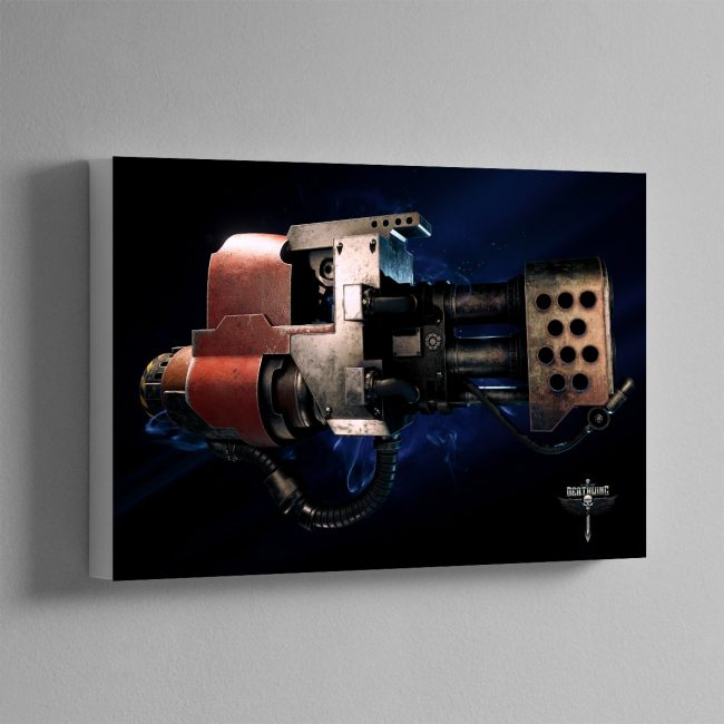 HEAVY FLAMER – Canvas Print