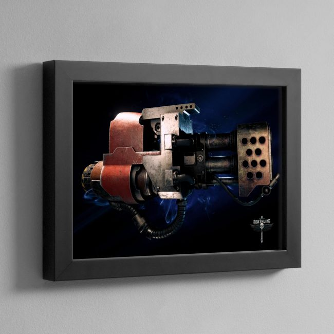 HEAVY FLAMER – Framed Print