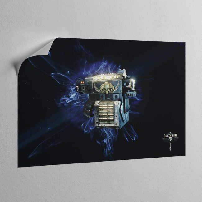 STORM BOLTER – Canvas Poster