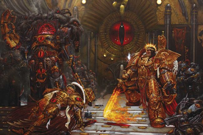 Horus vs the Emperor (2004)