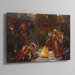 Horus vs the Emperor (2004) – Aluminium Print