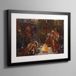 Horus vs the Emperor (2004) – Framed Print