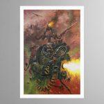 A Nurgle Worshipping Chaos Plague Ma… – Print