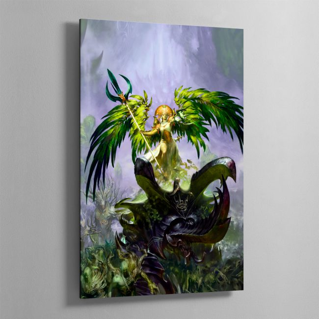 Alarielle the Everqueen – Aluminium Print