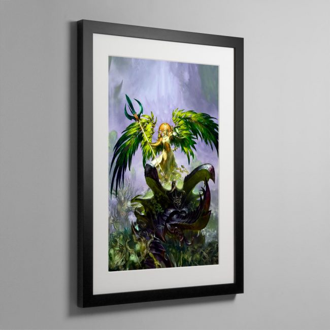 Alarielle the Everqueen – Frame Print