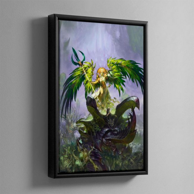 Alarielle the Everqueen – Framed Canvas