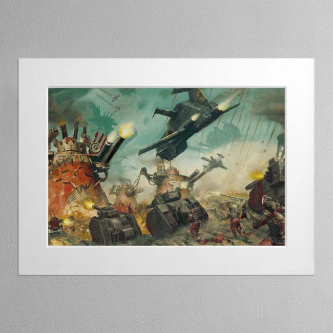 Apocalypse – Mounted Print