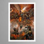 Archaon Everchosen and the Varanguard – Print