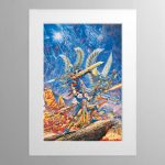 Aspect Warriors – Mounted Print