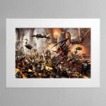 Behemoth – Mounted Print