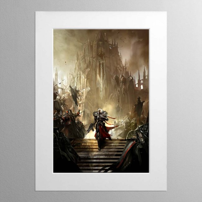 Blood Of The Martyrs – Mounted Print