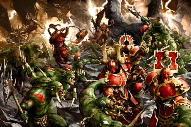 Bloodbound vs Savage Orruks