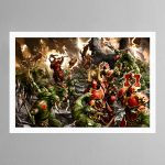 Bloodbound vs Savage Orruks – Print