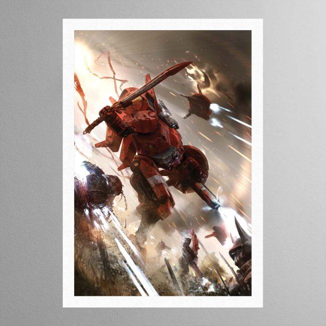 Commander Farsight – Print
