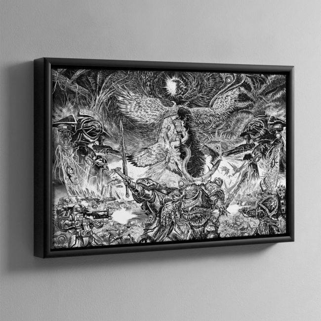 Dark Imperium – Framed Canvas
