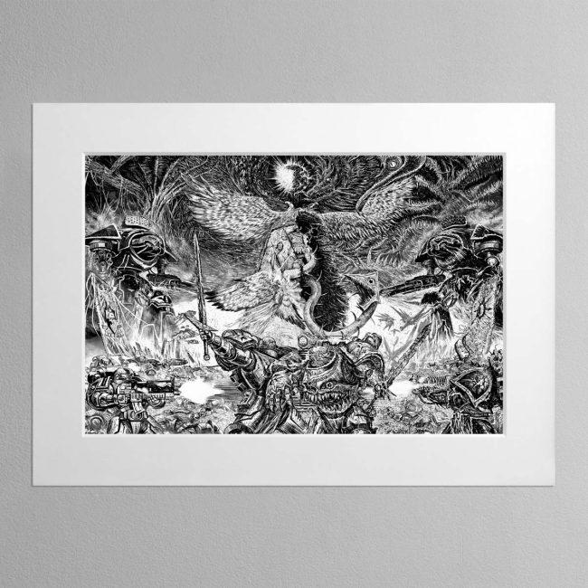 Dark Imperium – Mounted Print