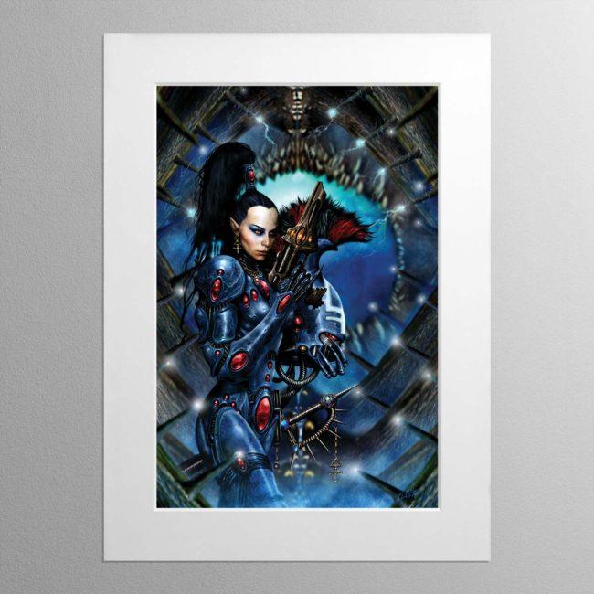 Dire Avenger – Mounted Print