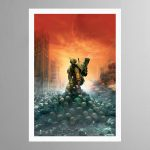 Fire Warrior – Print