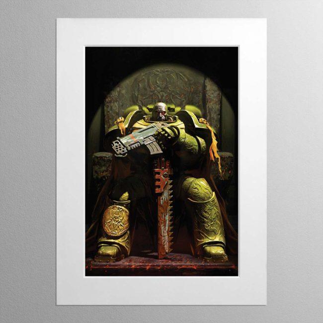 Firedrake – Mounted Print