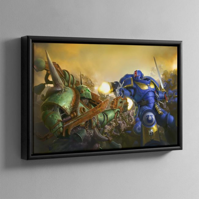 First Strike – Framed Canvas