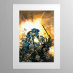 For The Emperor – Mounted Print