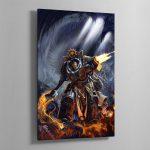 Grand Master Voldus – Aluminium Print