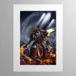 Grand Master Voldus – Mounted Print