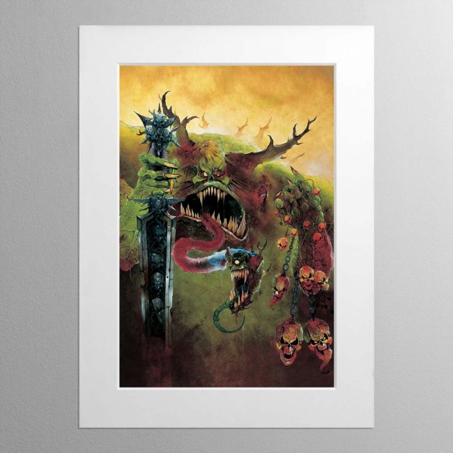 Great Unclean One – Mounted Print