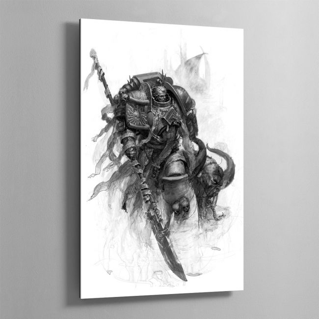 Grey Knight – Aluminium Print
