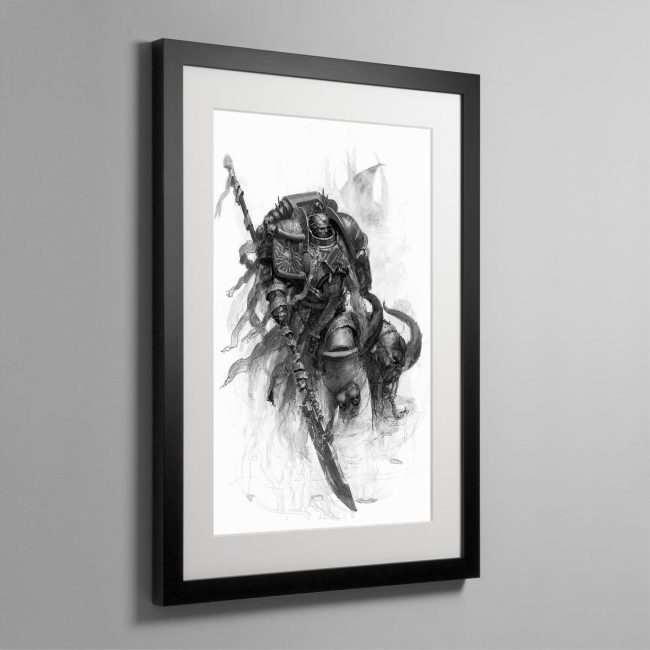 Grey Knight – Frame Print